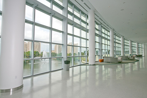 Inside the University of Miami Student Center